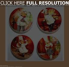 Fat Chef Kitchen Decor Also Bistro Amazoncom Canister Set