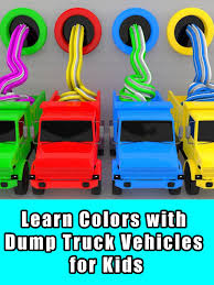 100 Dump Truck Video For Kids Watch Learn Colors With Vehicles For On Amazon