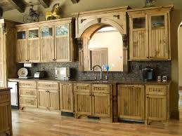 Off White Rustic Kitchen Cabinets