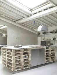 ilot cuisine palette fabrication d un ilot central de cuisine comment fabriquer un arlot