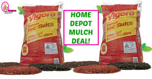 HOT MULCH DEAL at Home Depot starting March 1st ·