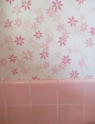 Pink Retro Wallpaper With Tile