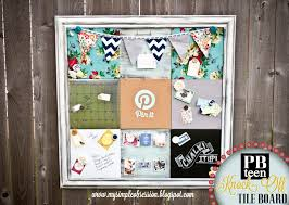 My Simple Obsession: Pottery Barn Knockoff Tile Board Pottery Barn Efedesigns Tween Dreams A Black Blush Bedroom Makeover Thejsetfamily How To Get The Look Even When You Dont Have Crypton Home Launches At Accents Today My Simple Obsession Knockoff Tile Board Diy By Design Teen Inspired Style Master The Weathered Fox Best 25 Barn Kitchen Ideas On Pinterest Neutral Remodelaholic 3 Rustic Frames Pinboard I Create