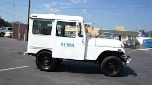 77 US MAIL Postal Jeep AMC RHD Nice RMD Truck FOR SALE - YouTube