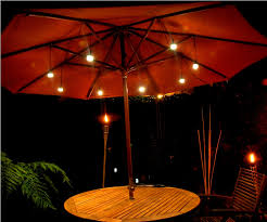 Outdoor Umbrella Lights Battery Operated — All Home Design Ideas