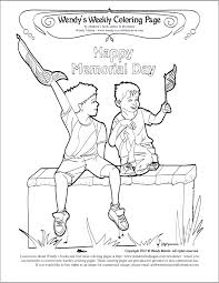 Page Memorial Day Coloring Sheets