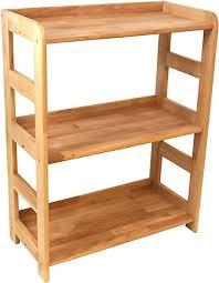 praktisches regal beethoven 90x65x33cm echtholz buche geölt für wohnzimmer büro oder kinderzimmer