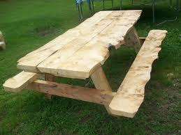 rough cut lumber 6ft picnic table decorating ideas pinterest