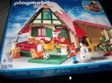 maison du pere noel playmobil pere noel playmobil en vente ebay