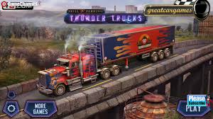 100 Heavy Duty Truck Parking Skill 3D Thunder S Vehicle Games Android