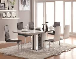 Modern Dining Table With Chairs | Ultra Modern Ice White Marble ... White Ultra Modern Ding Table Wtwo Pedestal Legs Glass Top Classic Chair Room Ideas Chair Chairs Set Of 2 Grey Faux Leather Z Shape C Base Wade Logan Cndale Midcentury Upholstered Set Classics Contemporary Brindle Finish Artsy Tables Kitchen And Chairs Bal Harbor Taupe Pier 1 Gloss Black Fabric Designer Breakpr Luxury Apartment Designs For Young Criss Cross In Espresso Room