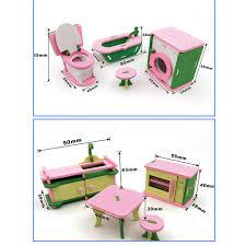 Diy Wooden Dollhouse Miniature Kit Doll House Ledmusicvoice With The