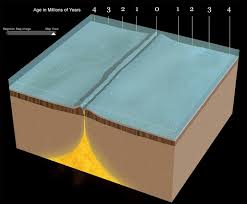 Sea Floor Spreading Subduction Animation by Evidence For Sea Floor Spreading Mid Ocean Ridges And