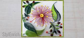 Quilling Wall Decoration Ideahow To Make Hanging Using How Art