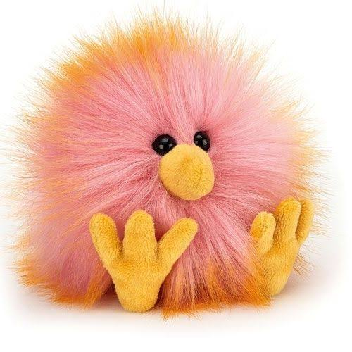 Jellycat Crazy Chick Pink & Yellow