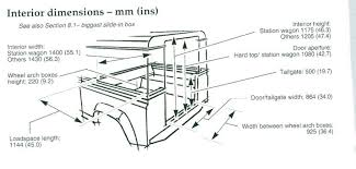 90 Truck Cab Tub Dimensions - Defender Forum - LR4x4 - The Land ... Ford E350 Box Truck Vector Drawing Amazoncom Bed Toolboxes Tailgate Accsories Fiexample Of Oline Wiring Diagram Fuse Boxjpg Wikimedia Vehicle Dimeions What Are The Dimeions This Box Van Enthusiasts Forums Dybookpage149jpg State Sportz Full Size Long Jac New Used For Sale Rent Ersb Trucks Hd Video 2011 Chevrolet G3500 Express 12 Ft Box Truck Cargo Van Trucklite 50 Series Smart Gray 7 Solid Pin Plastic
