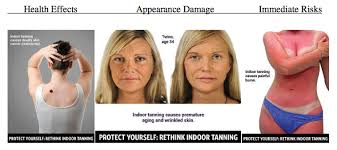 As With Smoking Using Disturbing to Stop Tanning Bed Use