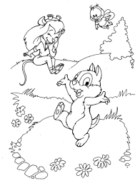 Click To See Printable Version Of Zipper Chip And Gadget Hackwrench Coloring Page