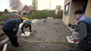 faire une dalle exterieur pose de dalles de terrasse