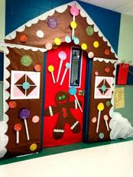 Classroom Door Christmas Decorations Pinterest by Gingerbread Candy House Christmas Classroom Door Decorations