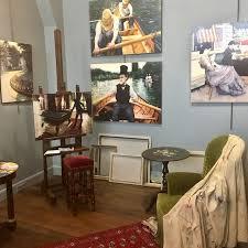 une expo un resto la maison de peintre et le chalet gastro à