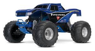 100 Blue Monster Truck Traxxas Bigfoot FIRESTONE 110th EBay