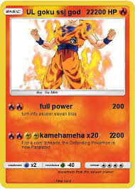 Pokemon UL Goku Ssj God 22