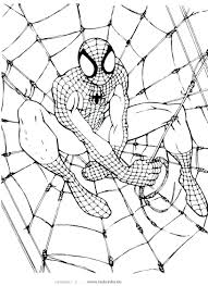 Free Printable Coloring Pages Kids Spiderman Pdf Book Walmart Full Size