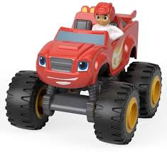 100 Monster Trucks For Kids Nickelodeon Blaze Machine Vehicle AJ Truck Toddler Toy