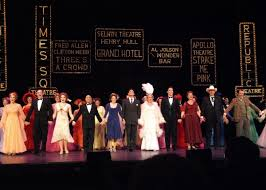 coverage musical theatre west s 42nd street opening night curtain