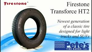 Firestone Transforce HT2 Light Truck Tire - YouTube Light Truck Used Tyres Retreading Acutread Tire Service Manufacturers Retread Tires Coinental Expands With 16inch Allsteel Radial Conti Lar 3 Heavy Suv For All Cditions Bridgestone Commercial Rolls Out Premium Drive Tandem Cooper Adds New Sizes To Roadmaster Rm272 Line Business Long Beach M And Tyre Suppliers