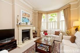 wohnzimmergestaltung mit erkerfenster innenraum in einem