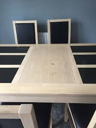 Dining Table With 6 Chairs SOLD