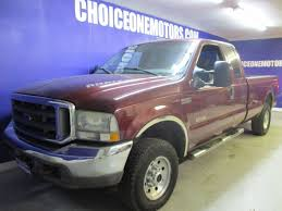 100 Ford Diesel Truck 2004 Used Super Duty F250 4x4 Supercab Lariat Long Bed