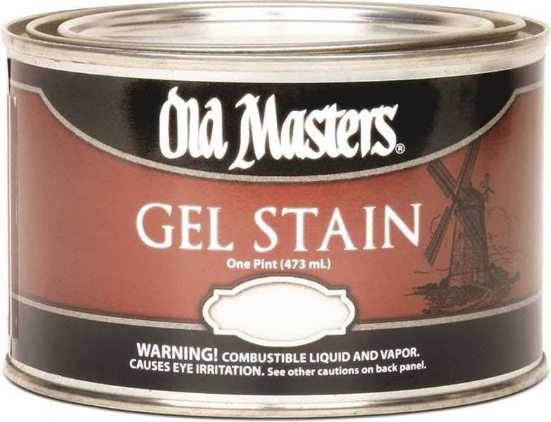 Old Masters Gel Stain - Dark Mahogany, 473ml