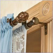 Blockaide Double Curtain Rod by Double Curtain Rod Set Double Curtain Rod Set 120 Inches Tension