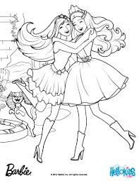 Gardenia Diamonds Made The Kingdon Magical Barbie Coloring Page And Princess Popstar Pages