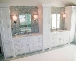 magnificent double vanity with center tower and 28 best master