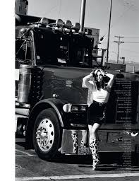100 Big D Truck Stop Cindy Crawford Makes One Hot Mamma Fashion Editorials