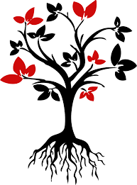 Family Tree With Roots Clipart
