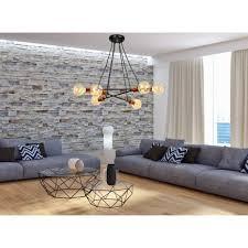 hängele zeta schwarz retro esstisch wohnzimmer