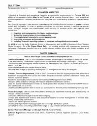Finance Manager Resume Examples Best Of Financial