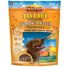 Colorado Pumpkin Patch by Zuke U0027s Mini Naturals Pumpkin Patch Treats Turkey U0026 Pumpkin 6 Oz