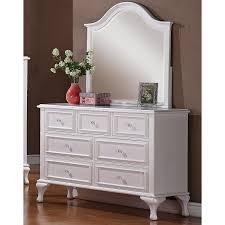 Shoal Creek Dresser White by 100 Sauder Shoal Creek Dresser Relaxed Traditional 4 Drawer