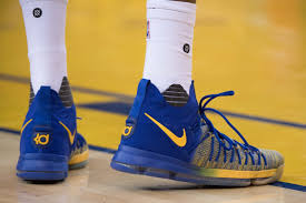 Kevin Durant & Nike Laced The Warriors With KD 9s | Nice Kicks Nba Finals Kicks Of The Night Bevel The Nbas Most Interesting Shoe Sizes Sole Collector Boston Celtics Gordon Hayward Suffers Fractured Ankle In Season Playoff Slamonline World Reacts To Reported Carmelo Anthony Trade Nbacom Shoes Each Star Is Wearing Cluding