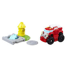 Playskool Heroes Transformers Rescue Bots Flip Racers Heatwave The ...