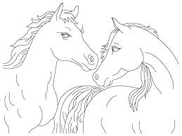Amazing Realistic Horse Coloring Pages 94 In For Kids Online With