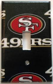 San Francisco 49ers NFL Light Switch Or Outlet Man Cave Sports Wall Decor Different Plate