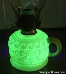 Aladdin Lamp Oil Shelf Life by Antique Custard Glass Finger Lamp Oil Lamp Antiques