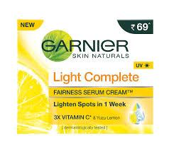 Garnier Skin Naturals Light Complete Serum Cream At Nykaa.com